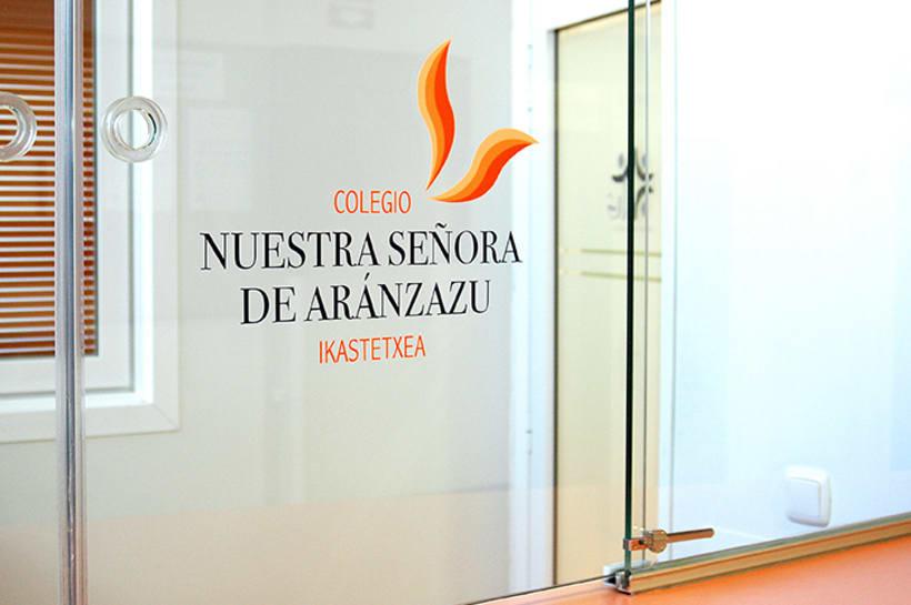 Branding Colegio Aránzazu 8