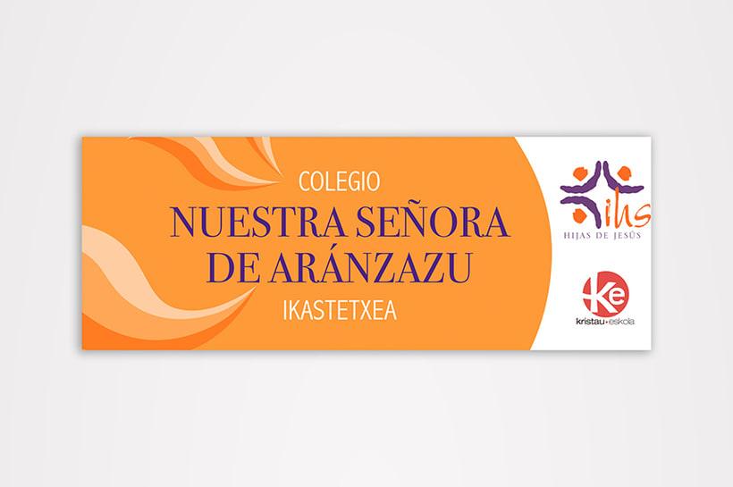 Branding Colegio Aránzazu 2