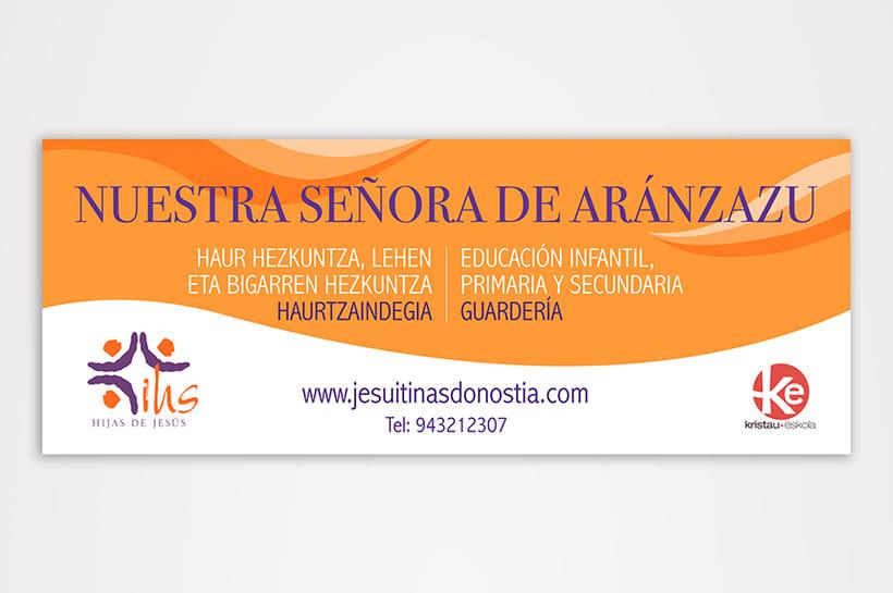 Branding Colegio Aránzazu 6