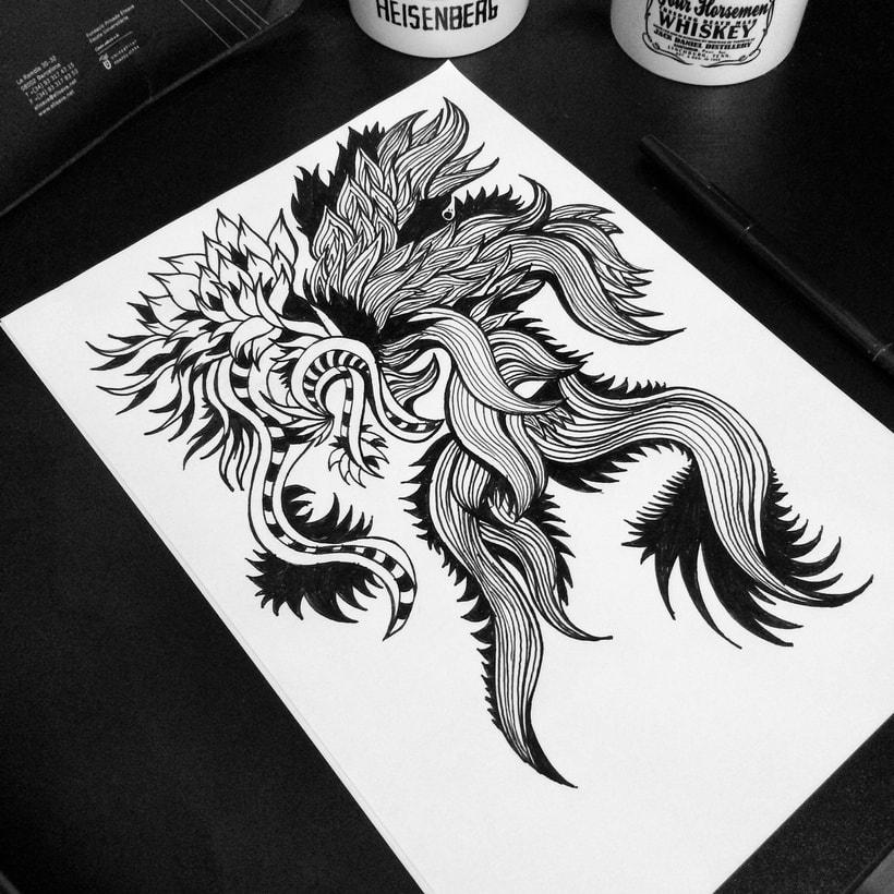 Ilustraciones | bocetos 1 0