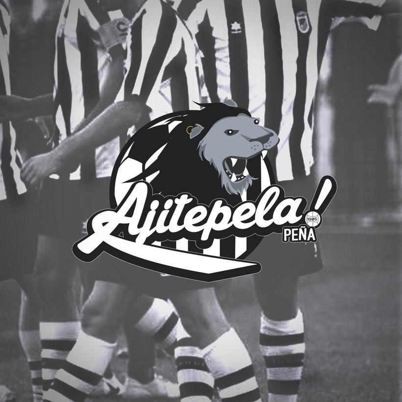 Logotipo para peña AJITEPELAS! 0