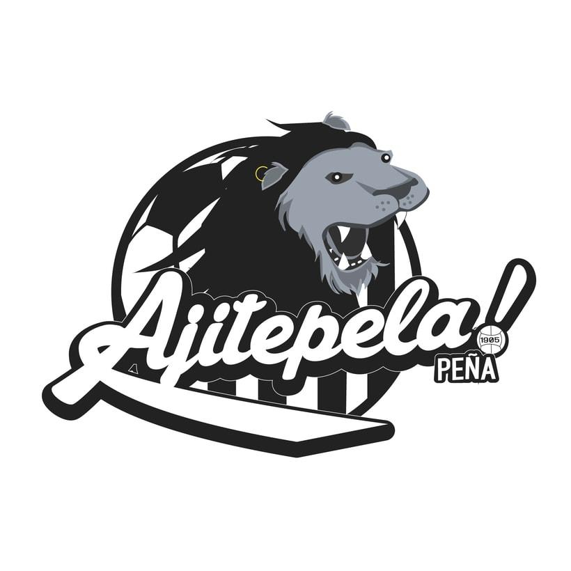 Logotipo para peña AJITEPELAS! 2