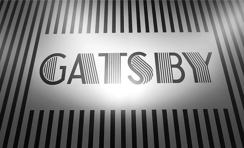 Identidad marca Gatsby Barcelona 2