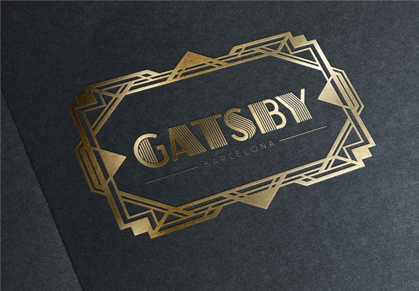 Identidad marca Gatsby Barcelona 0