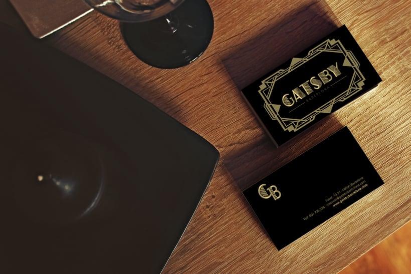 Identidad marca Gatsby Barcelona 4