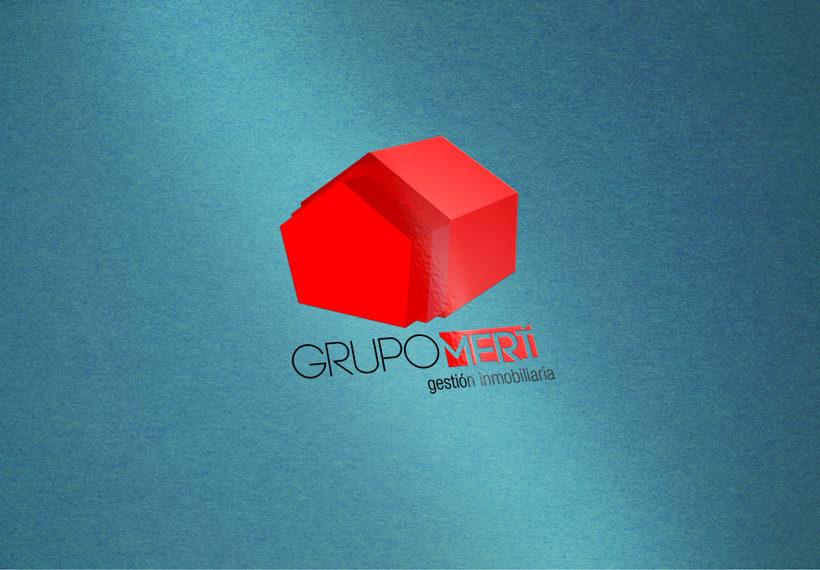 Logo Grupo Merí Gestión Inmobiliaria 2