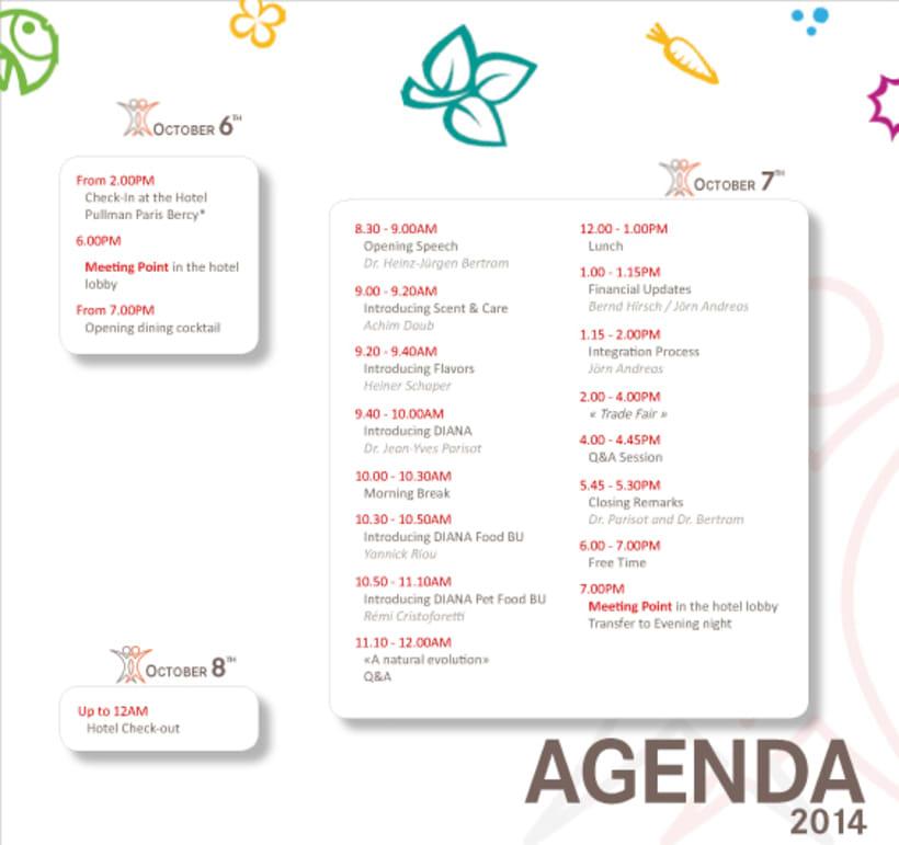 Tríptico/Agenda evento internacional 2014 1