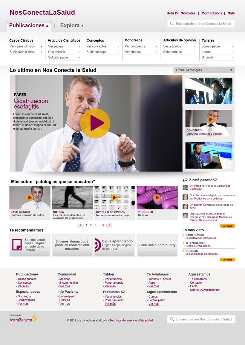 Nos conecta la salud (portal web) 2
