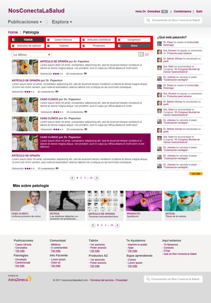 Nos conecta la salud (portal web) 5