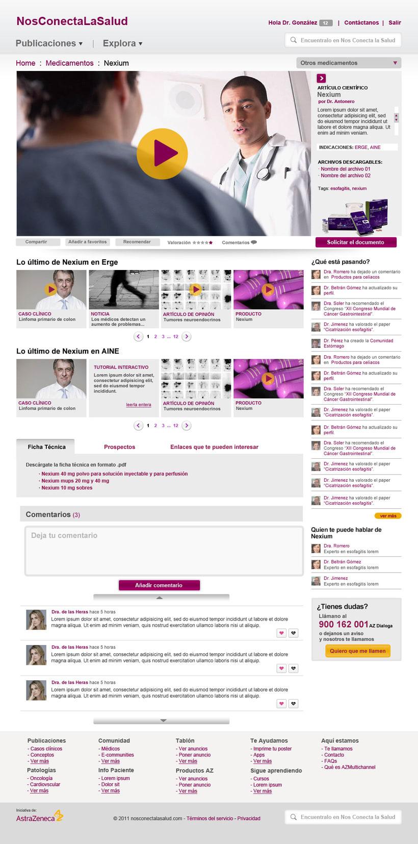 Nos conecta la salud (portal web) 10