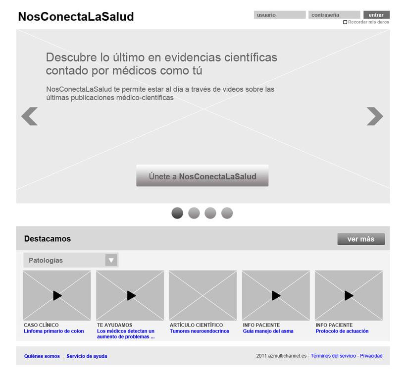 Nos conecta la salud (portal web) 16