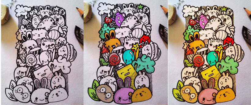 Enganchandome al doodle... -1