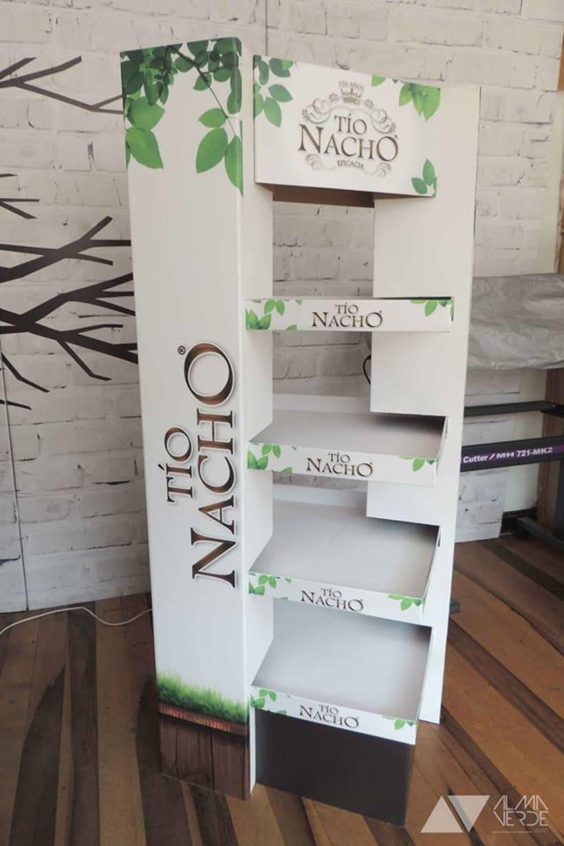 Marca Tio Nacho - Displays para almacenes de cadena. 2