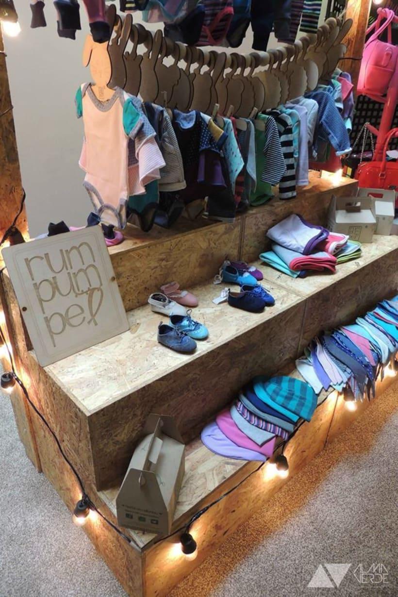 Rumpumpuel Kids - Mueble de exhibición para eventos 0