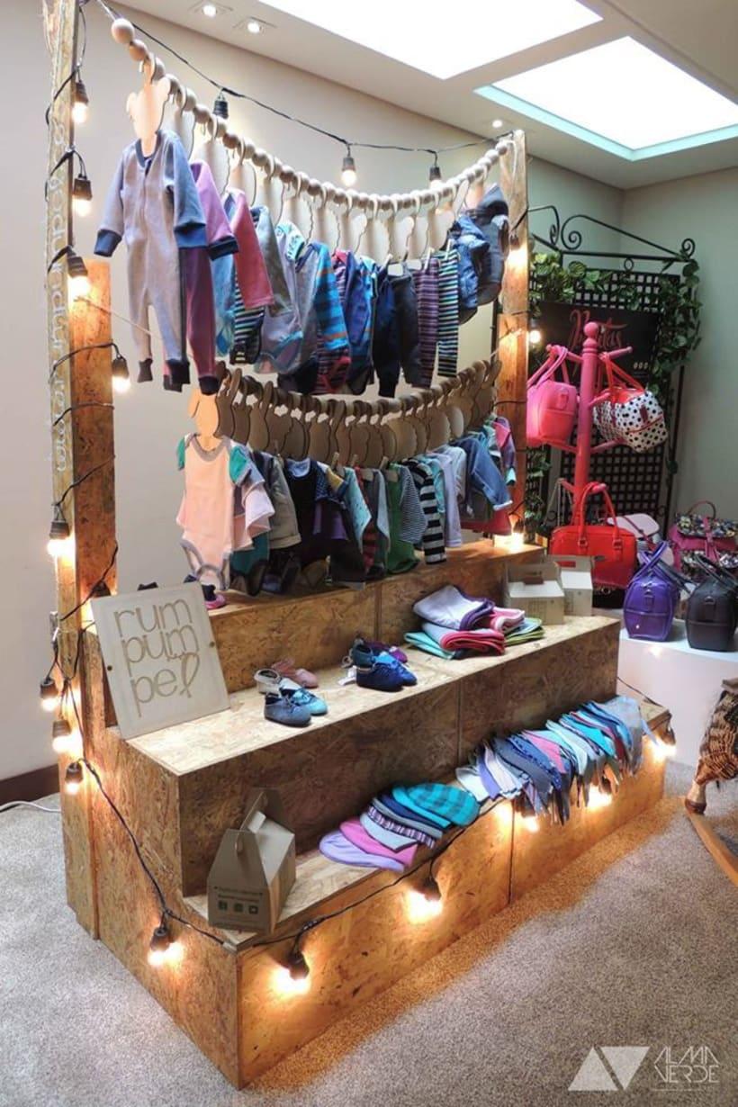 Rumpumpuel Kids - Mueble de exhibición para eventos 3