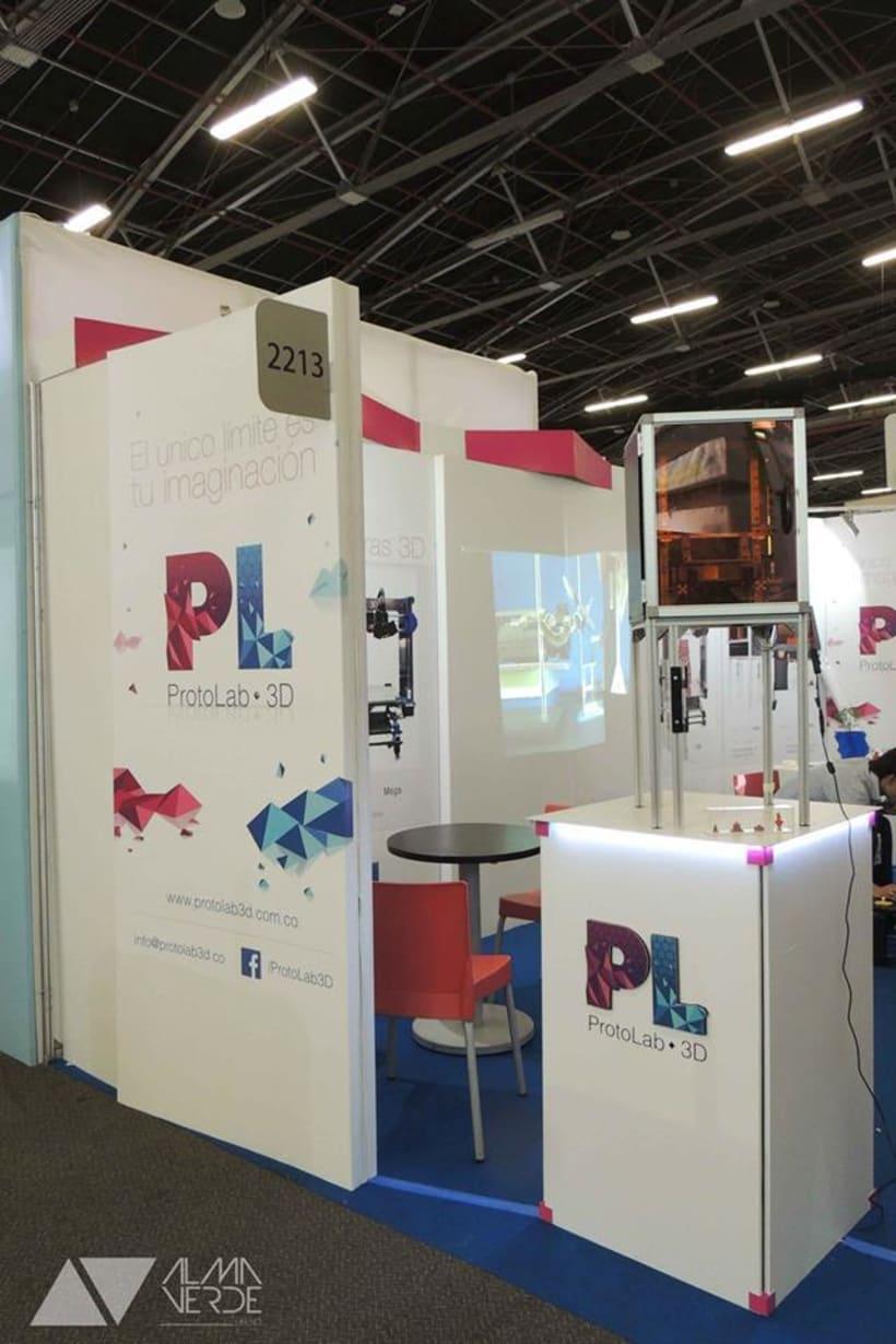 Protolab 3D - Stand feria Andigrafica 2015 -1
