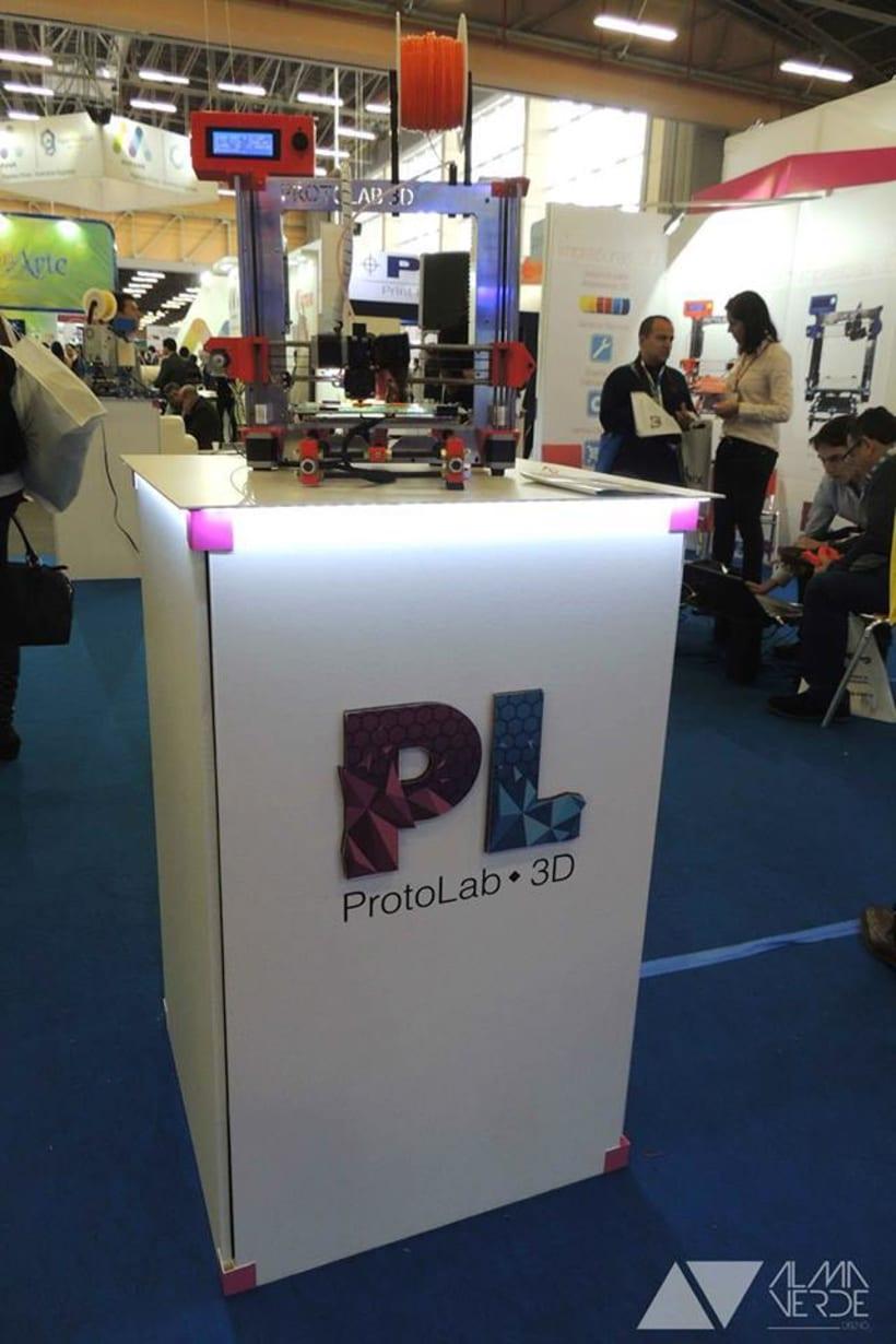 Protolab 3D - Stand feria Andigrafica 2015 0