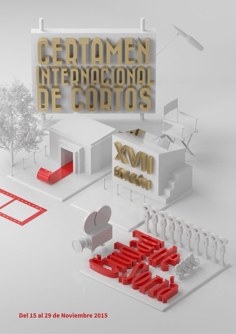 Certamen de Cortos Ciudad de Soria | Mi Proyecto del curso Dirección de Arte con Cinema 4D 0