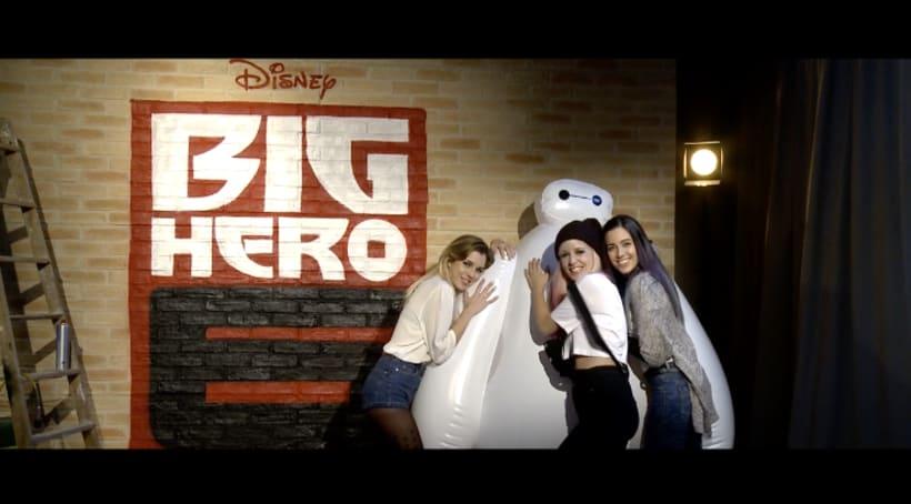 "Big Hero 6 ""Inmortales"" Sweet California - VideoClip 1"