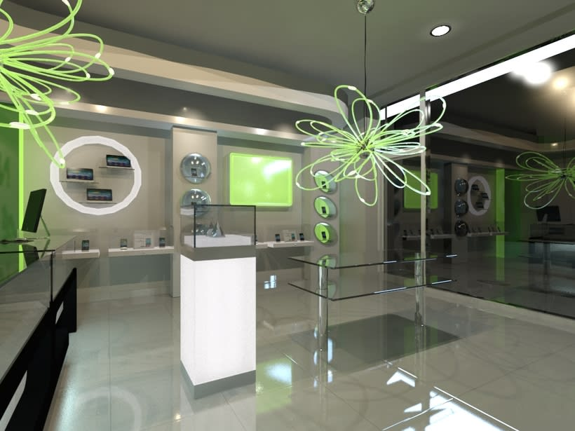 Tienda Telefon A Interiorismo E Infograf As Domestika