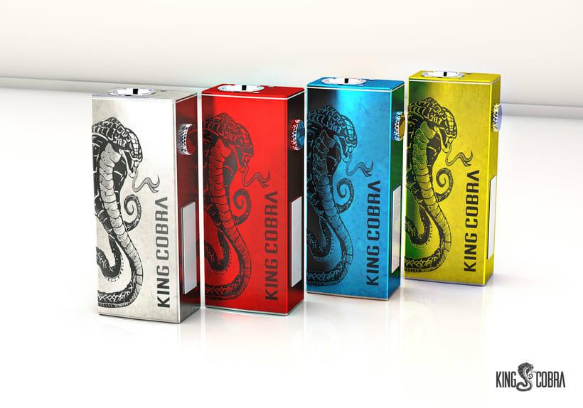 King Cobra diseño de packaging y producto -1
