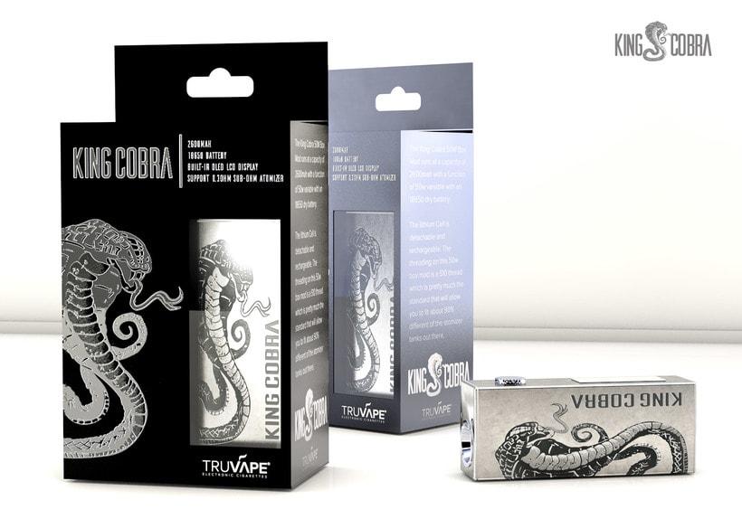 King Cobra diseño de packaging y producto 0