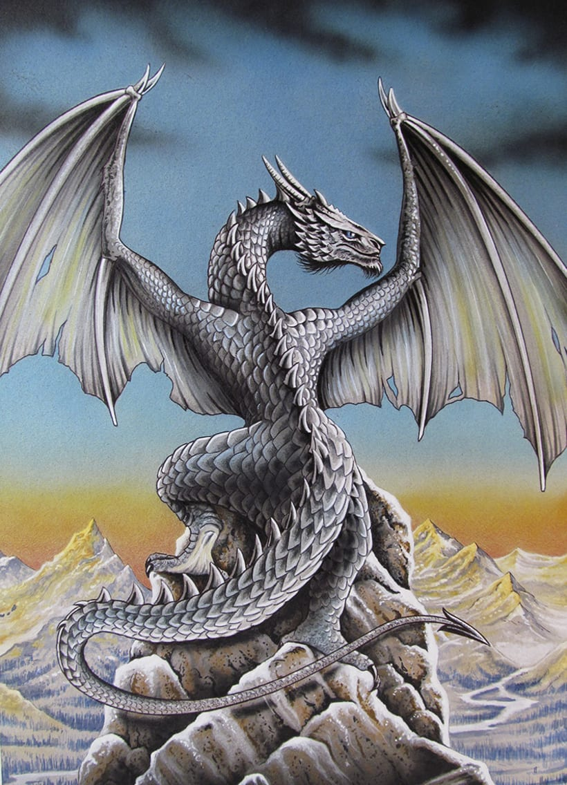 Dragón Azul 0