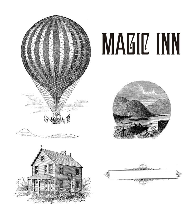 Magic Inn (Cartelismo ilustrado) 0
