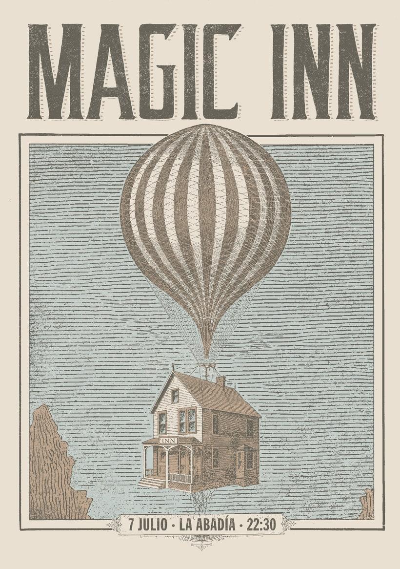 Magic Inn (Cartelismo ilustrado) 1