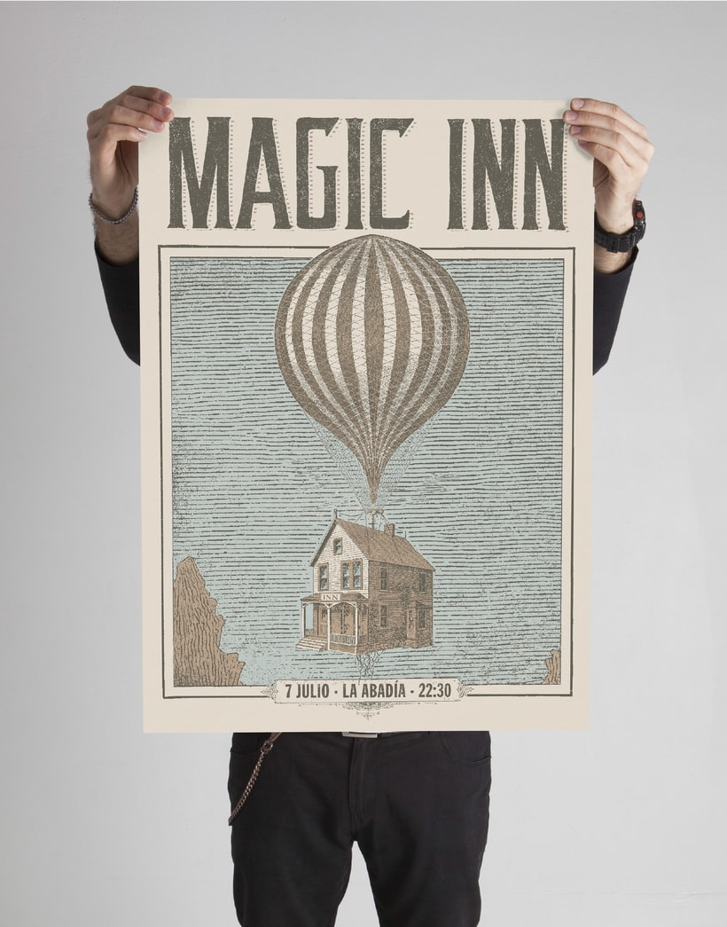 Magic Inn (Cartelismo ilustrado) 2