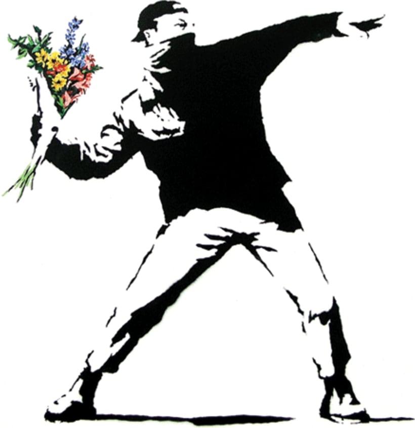 Banksy. PAZ -1