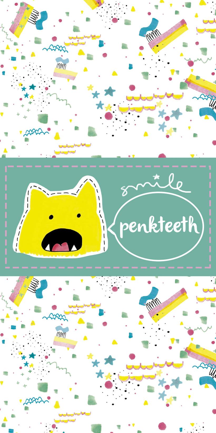 "Pasta de dientes infantil ""Penkteeth"" 4"