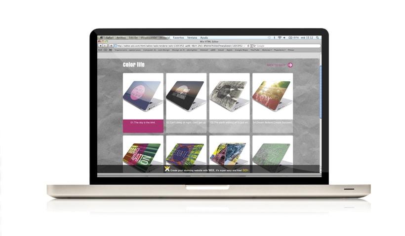 Yume skin - vinilos decorativos para portátiles y tablets. 9