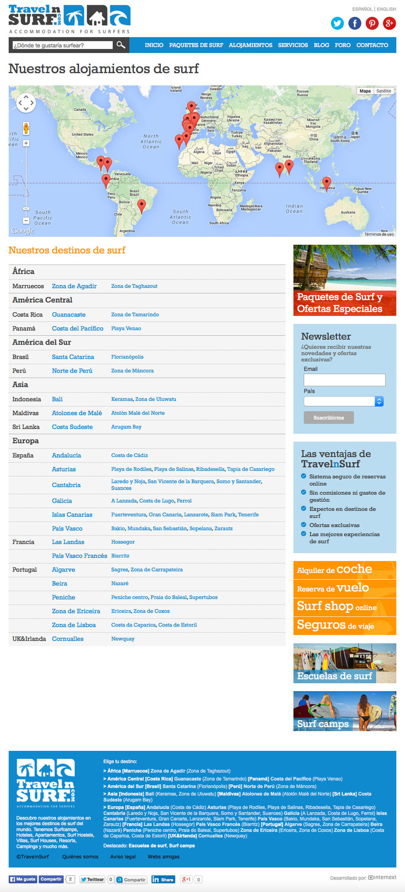 Web TravelnSURF 1