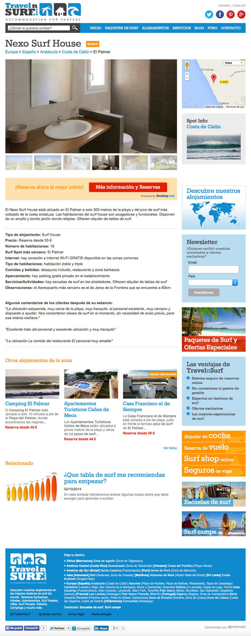 Web TravelnSURF 2