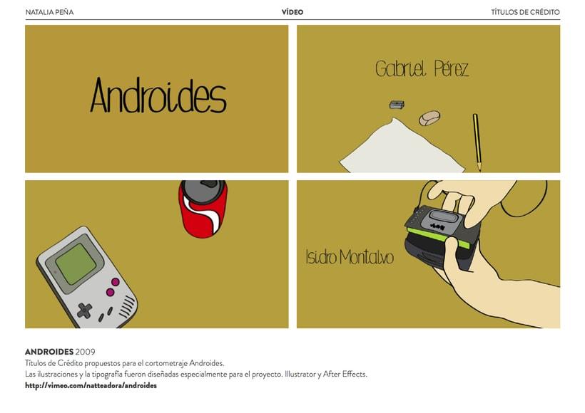 Títulos de crédito Androides 1