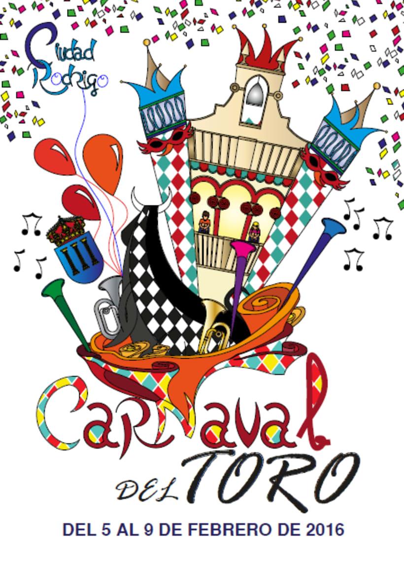 Cartel Carnaval del Toro 2016 1