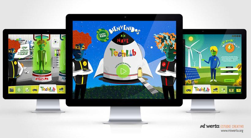 Techlab · Aplicación web 2