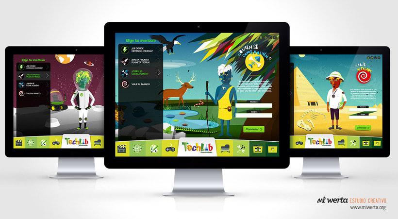 Techlab · Aplicación web 6