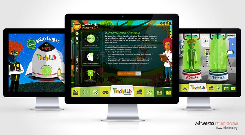 Techlab · Aplicación web 8
