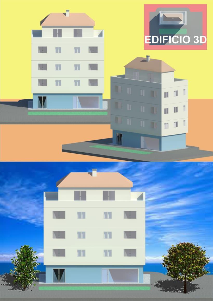 Dibujos y composiciones 3D 0