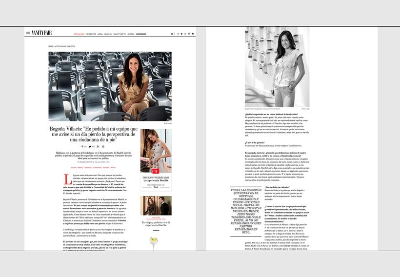 Rediseño Web para Vanity Fair España 12