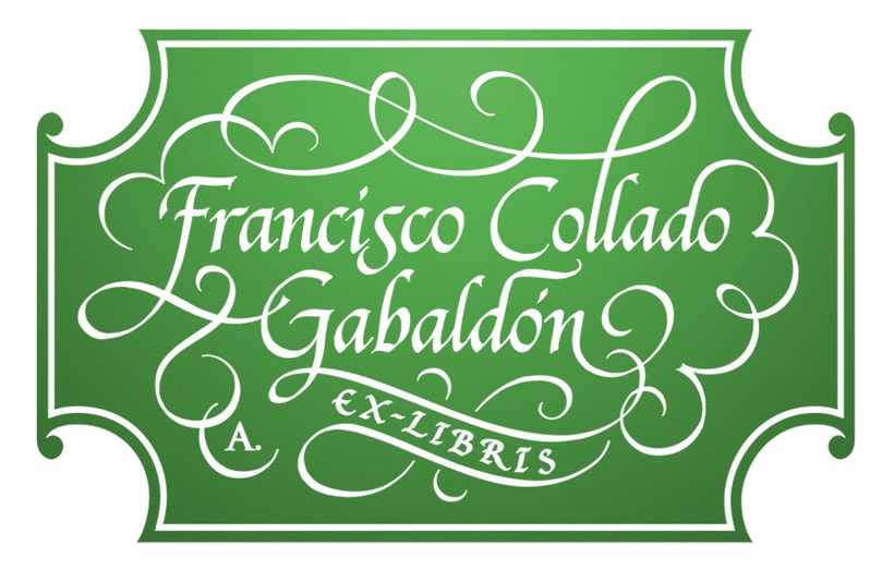 'Ex Libris' para Francisco C. Gabaldón 2