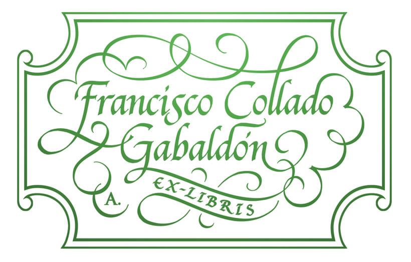 'Ex Libris' para Francisco C. Gabaldón 3
