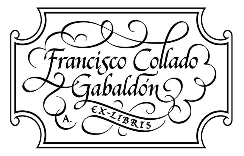 'Ex Libris' para Francisco C. Gabaldón 4