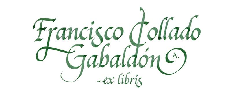 'Ex Libris' para Francisco C. Gabaldón 6