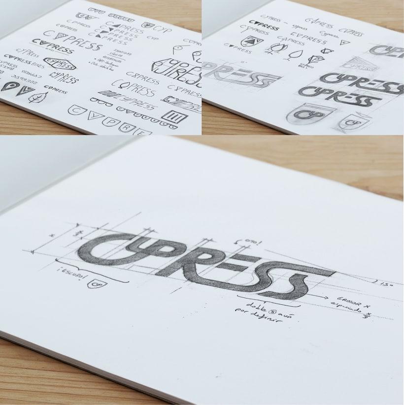 Cypress Bikes | Rebranding 1
