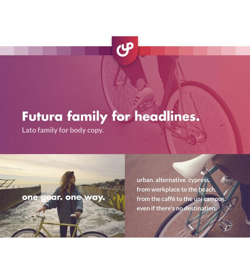 Cypress Bikes | Rebranding 3