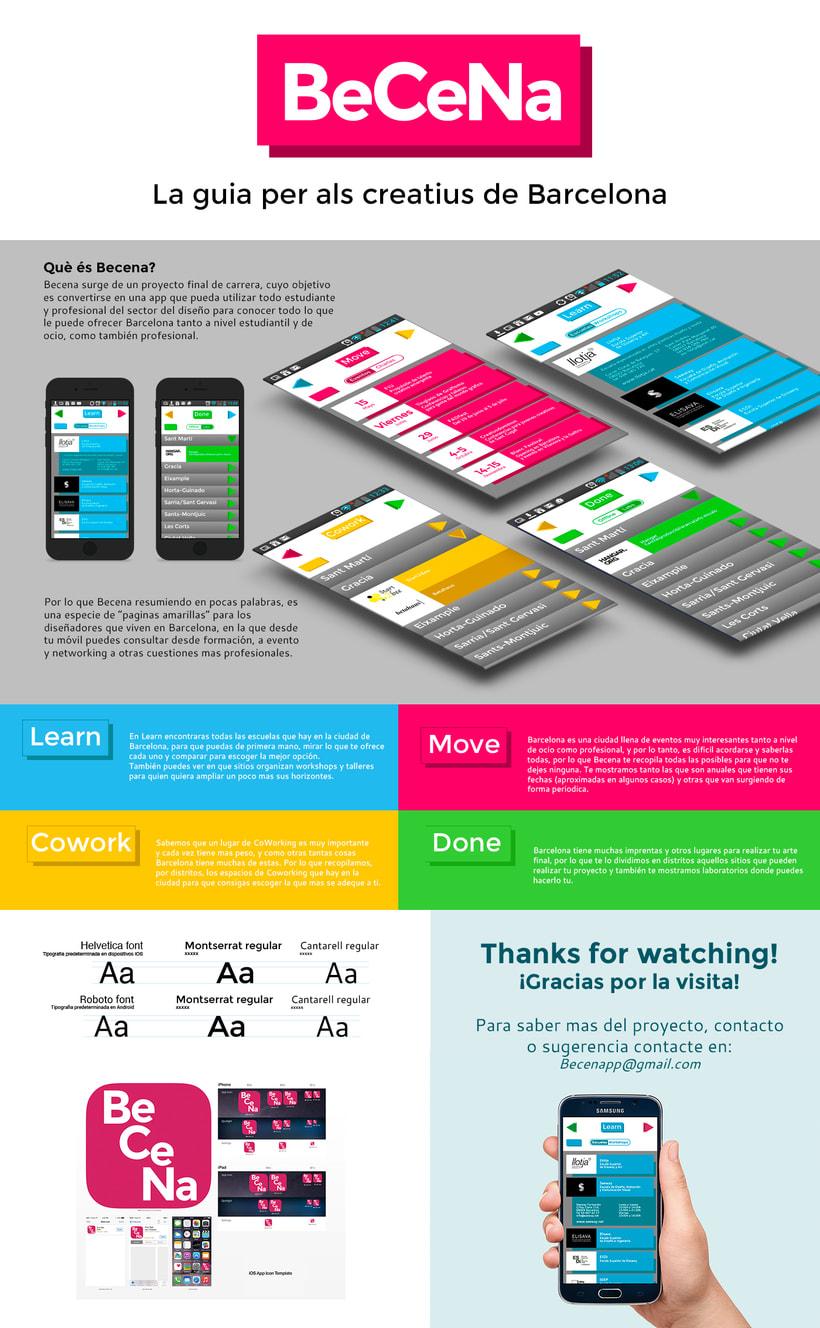 Becena - La guia app para creativos de Barcelona 0