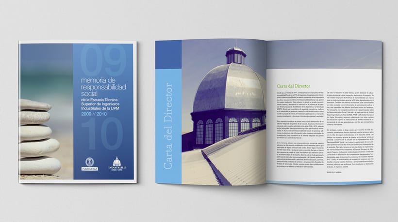 Imagen Corporativa para la Escuela de Industriales de Madrid ETSII-UPM 5